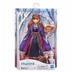 Hasbro E6853GC0 - Disney Frozen II, Eiskönigin Anna, Singende Anna, Spielfigur