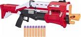 Hasbro Nerf E7065EU4 - Fortnite TS Pump-Action Blaster, 8 Nerf Mega Fortnite Darts, Dartaufbewahrungsfach