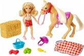 """Mattel GFF50 Barbie """"Spaß auf dem Bauernhof"""" Chelsea + Pony"""