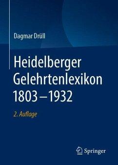 Heidelberger Gelehrtenlexikon 1803-1932 - Drüll-Zimmermann, Dagmar