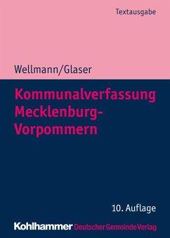 Kommunalverfassung Mecklenburg-Vorpommern (eBook, PDF) - Glaser, Klaus Michael