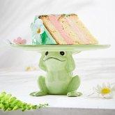 Kuchenplatte Frosch Grün
