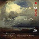 Klavierkonzert 1 Op.15,Intermezzi Op.117