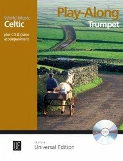 Celtic - Play Along Trumpet, m. MP3-CD