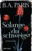 Solange du schweigst (eBook, ePUB)