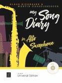 My Song Diary für Altsaxophon, m. Audio-CD