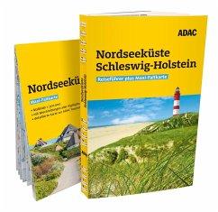 ADAC Reiseführer plus Nordseeküste Schleswig-Holstein mit Inseln - Lammert, Andrea; Leyk, Randolf