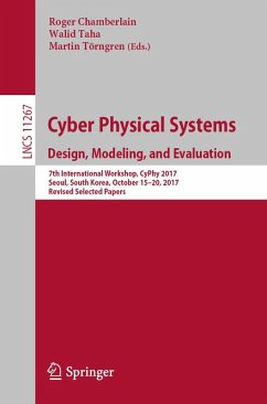 Cyber Physical Systems. Design, Modeling, and Evaluation (eBook, PDF)