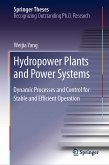 Hydropower Plants and Power Systems (eBook, PDF)