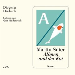 Allmen und der Koi / Johann Friedrich Allmen Bd.6 (4 Audio-CDs) - Suter, Martin