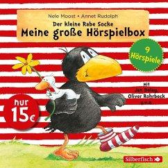 Der kleine Rabe Socke - Meine große Hörspielbox, 3 Audio-CDs - Moost, Nele; Rudolph, Annet