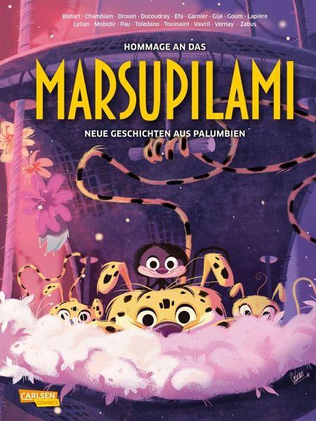 Buch-Reihe Hommage an das Marsupilami