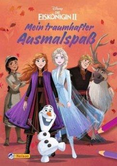 Disney Die Eiskönigin 2: Mein traumhafter Ausmalspaß