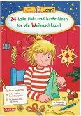 24 tolle Mal- und Bastelideen für die Weihnachtszeit / Conni Gelbe Reihe Bd.45