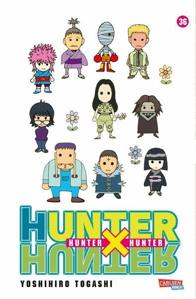 Buch-Reihe Hunter X Hunter