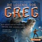 Der krass katastrophale Anfang der ganzen Sache / Die Legende von Greg Bd.1 (4 Audio-CDs)