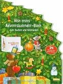 Mein erstes Adventskalender-Buch zum Suchen und Schmücken - Mit 24 Türchen und Spiel-Stickern