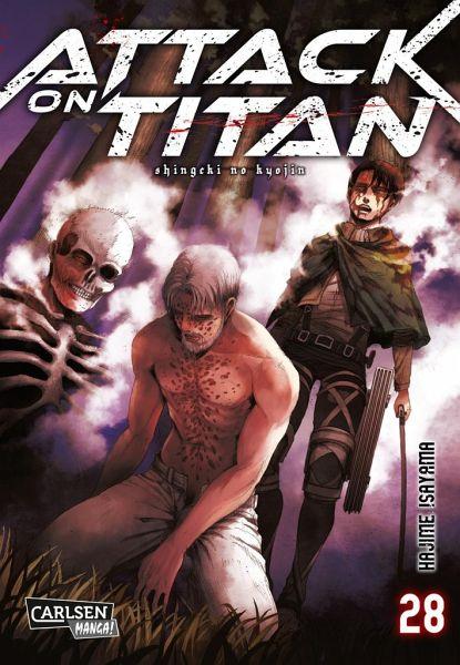 Buch-Reihe Attack on Titan
