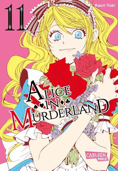 Buch-Reihe Alice in Murderland