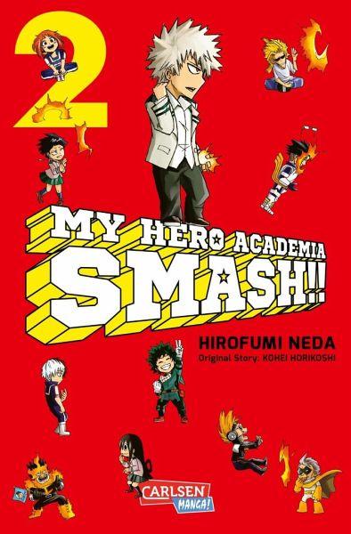 Buch-Reihe My Hero Academia Smash