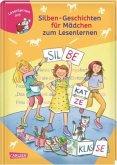 Silben-Geschichten für Mädchen zum Lesenlernen / Lesemaus zum Lesenlernen Sammelbd.42