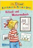 Meine Freundin Conni: Kunterbunter Mitmach-Spaß - Kritzel- und Weitermalbuch