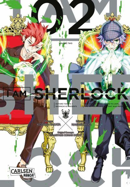 Buch-Reihe I am Sherlock