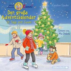 Der große Adventskalender, 2 Audio-CDs - Sander, Karoline