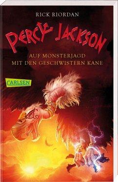 Percy Jackson - Auf Monsterjagd mit den Geschwistern Kane (Percy Jackson) - Riordan, Rick