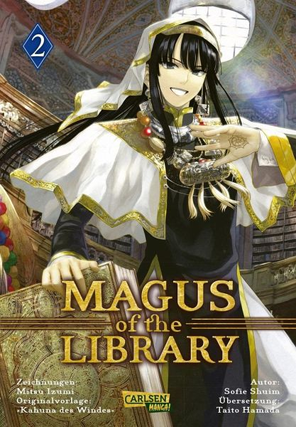 Buch-Reihe Magus of the Library