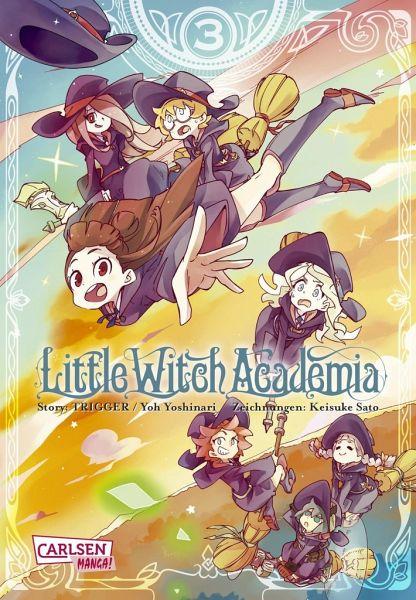 Buch-Reihe Little Witch Academia