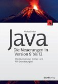 Java - die Neuerungen in Version 9 bis 12 (eBook, PDF)