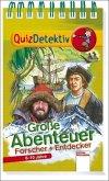 QuizDetektiv. Große Abenteuer (Mängelexemplar)