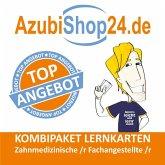 AzubiShop24.de Kombi-Paket Lernkarten Zahnmedizinische /r Fachangestellte /r