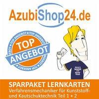 AzubiShop24.de Spar-Paket Lernkarten Verfahrensmechaniker für Kunststoff- und Kautschuktechnik