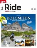 RIDE - Motorrad unterwegs, No. 3 - Dolomiten