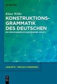 Konstruktionsgrammatik des Deutschen (eBook, PDF)