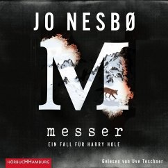 Messer / Harry Hole Bd.12 (2 Audio-CDs) - Nesbø, Jo