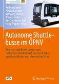 Autonome Shuttlebusse im ÖPNV