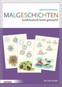 Malgeschichten für Kita-Kinder - Wilmes-Mielenhausen, Brigitte