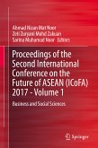 Proceedings of the Second International Conference on the Future of ASEAN (ICoFA) 2017 - Volume 1 (eBook, PDF)