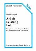 Arbeit, Leistung, Lohn (eBook, PDF)