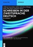 Schreiben in der Zweitsprache Deutsch (eBook, PDF)