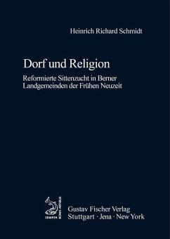 Dorf und Religion (eBook, PDF) - Schmidt, Heinrich R