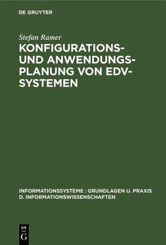 Konfigurations- und Anwendungsplanung von EDV-Systemen (eBook, PDF) - Ramer, Stefan