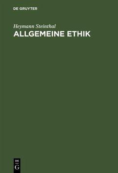 Allgemeine Ethik (eBook, PDF) - Steinthal, Heymann