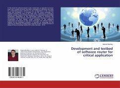 Development and testbed of software router for critical application