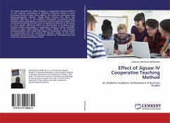 Effect of Jigsaw IV Cooperative Teaching Method - Akinbowale, Olakunle Akintunde