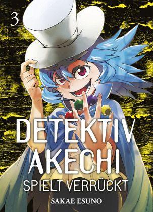 Buch-Reihe Detektiv Akechi spielt verrückt