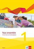 Tous ensemble 1. Fit für Tests und Schulaufgaben mit Audios online 1. Lernjahr